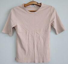 Yohji Yamamoto Y's Ys for living beige stretchable tshirt small