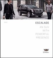 2016 Cadillac Escalade 56-page Original Car Sales Brochure Catalog