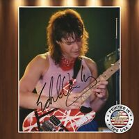 Eddie Van Halen Autographed Signed 8x10 Photo Model REPRINT