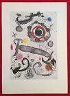 Joan Miró, Swamp Star, Offset Lithograph, Vintage, Paris, 1972