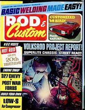 Rod & Custom Magazine January 1968 Volksrod Project EX No ML 041217nonjhe