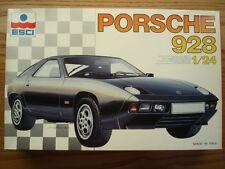 ESCI 1:24 Scale Porsche 928 Model Kit - New - Item No 3057