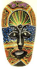 Masque Bois Ethnique Décoration Statue Africain Tribal Totem Aborigène Afrique