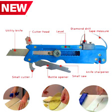 10-In-1 Multifunctional Glass And Tile Cutter Professional Measure Rule Kit Tool