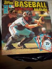 1982 TOPPS MLB BASEBALL STICKER ALBUM BRAND NEW UNUSED