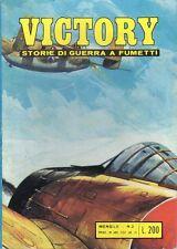 VICTORY STORIE DI GUERRA A FUMETTI ED. ALHAMBRA NUMERO 3