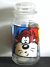 Taz Bugs Qt Glass Canister Jar Warner Bros Looney Tunes Daffy Free Sh
