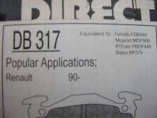 RENAULT 90 front disc brake pads.  NOT BARN FIND