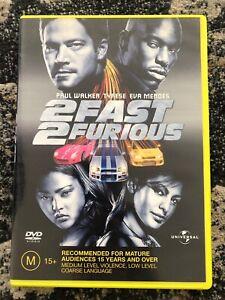 2 Fast 2 Furious DVD - Paul Walker - Region 4