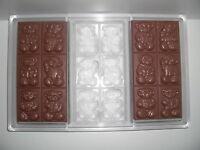 NEUE SCHOKOLADENFORM aus Polycarbonat NEW chocolate mold ANTON REICHE # 194-044