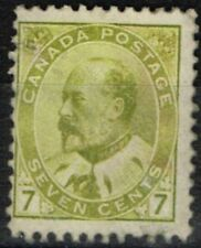 Lightly Hinged Single North American Stamps