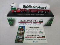 Eddie Stobart Scania R440 Highline Tanker Lorry Lynn H6363 1:76 with Certificate