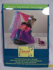 Dog FAIRY PRINCESS COSTUME Size Large NEW