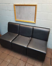 Faux Leather Chairs with 6 Pieces
