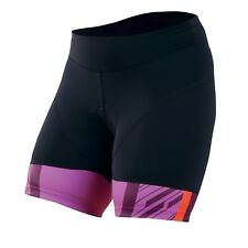 NEW Pearl Izumi Women's Elite In-r-cool cut short small black/purple chamois
