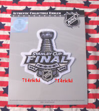 2018 Stanley Cup Final Finals Patch Washington Tampa Las Vegas Golden Knights