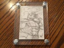 """2012 Marvel Premier Emotion Concept Sketch By Julio """"Nar"""" Naranjo Plus Bonus Art"""