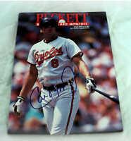 *RARE Cal Ripken Jr. AUTOGRAPHED March 1992 Beckett Baseball Card Magazine* COA