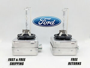 Stock Fit HID Headlight Bulbs for Ford Taurus 2010-2017 High & Low Beam Qty 2