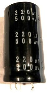 5 #bp Nichicon Elko upm1c221mpd 105 ° 220uf 16 V Low aréoport 8x13mm rm3 2 pc