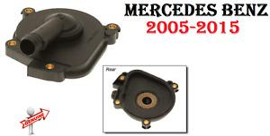 MERCEDES Engine Oil Separator Cover / Crank Case Vent Valve w/Seal GENUINE
