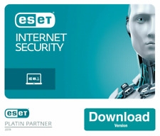 ESET NOD32 INTERNET SECURITY 2020 ✅ 3 PC 1 YEAR GLOBAL LICENSE KEY ✅