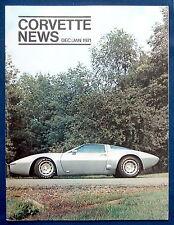 Prospekt brochure Corvette News Dec / Jan 1971 (USA)