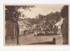 Dunster From The Ball Vintage Postcard 109a