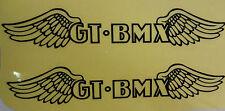 GT Decal Sticker BMX Wings Pair Park Street Racing Bikes Bicycle 5.25 x 1