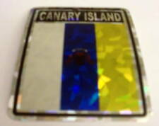 """3x4"" Canary Island Sticker /Canary Island Flag / Decal"