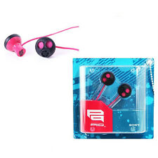 Sony MDR-PQ5PNK PINK Earbud Stereo Bass Powerful sound MDR-PQ5 GENUINE