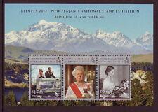 NOUVELLE-ZÉLANDE 2012 BLENPEX 2012 BLOC-FEUILLET NON MONTÉS EXCELLENT ÉTAT, MNH