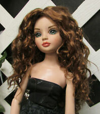 "Doll Wig, Monique Gold ""Ellowyne Rose"" Size 5/6 in Reddish Brown"