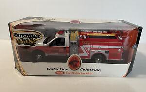 DTE 1:24 MATCHBOX COLLECTIBLES MIDDLETOWN PUMPER CO 1999 F-SERIES KME FIRE TRUCK