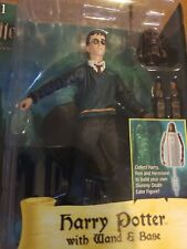 HARRY POTTER WITH WAND & BASE FIGURE ORDER OF THE PHOENIX NECA