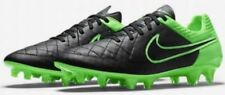 Nike Tiempo Legend V FG Cleats Black Green 631518 003 Men's 7.5 Women's 9 New