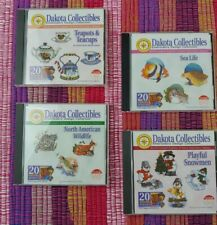 Huge Selection of Dakota Collectibles Embroidery Design Collection Cds