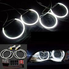 4pcs White CCFL Halo Rings Angel Eyes Light For BMW E30 E32 E34 E39 3 5 7 Series