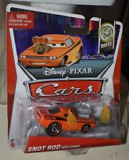 Disney Pixar Cars SNOT ROD with flames 8/10 TUNERS SEIRES NEW