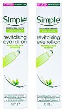 2 x Simple Revitalising Eye Roll-On  (2 x 15ml)