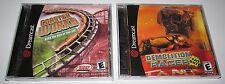 Lot of 2 Sega Dreamcast Games Demolition Racer & Coaster Works Brand New!
