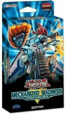 Yugioh TCG MECHANIZED MADNESS 1ST EDITION Structure Deck (42 Cards) (ENGLISH) NM