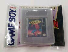 Nintendo Gameboy The Amazing Spider-Man w/ Case & Instruction Booklet