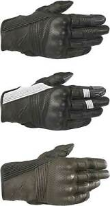 Alpinestars Mustang V2 Gloves - Motorcycle Street Riding Leather Touch Screen