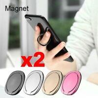 Universal Metal Bracket 360° Finger Ring Mobile Phone Stand Car Mount Magnetic