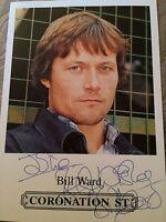 6x4 Hand Signed Photo  Bill Ward - James Barton Emmerdale, Coronation Street