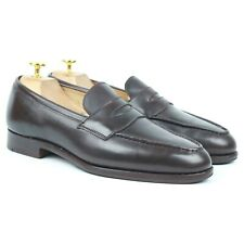 Tricker's 'Harvard' Brown Leather Loafers UK 7