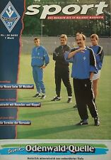Programm 6.8.1994 SV Waldhof Mannheim - Eintracht Frankfurt