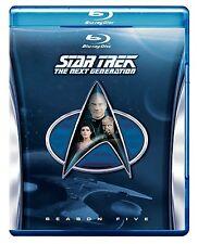 Star Trek: The Next Generation - Season 5 (Blu-ray Disc, 2013, 6-Disc Set LOWEST