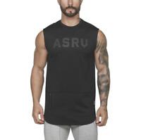 Men Bodybuilding Gym Sport Workout Tank Top Summer Vests Muscle Sleeveless
